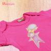 Body manga larga rosa PEKECOM